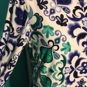 Vince Camuto Paisley Print Dress